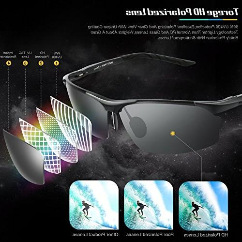 Polarized Al-Mg Frame Glasses