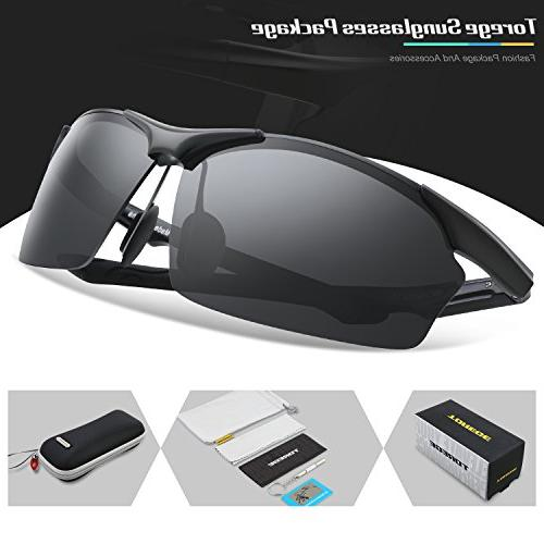 Polarized Sunglasses Metal Frame Glasses