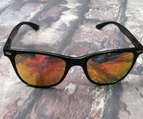 AEVOGUE polarized Sunglasses Black/Red