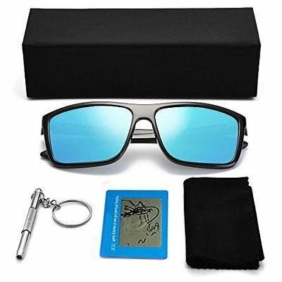 Polarized Sunglasses Sun Glasses Rectangular for