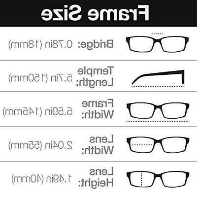 Polarized Sunglasses Men 3 Pairs - 55 Eye Size Matte Frame