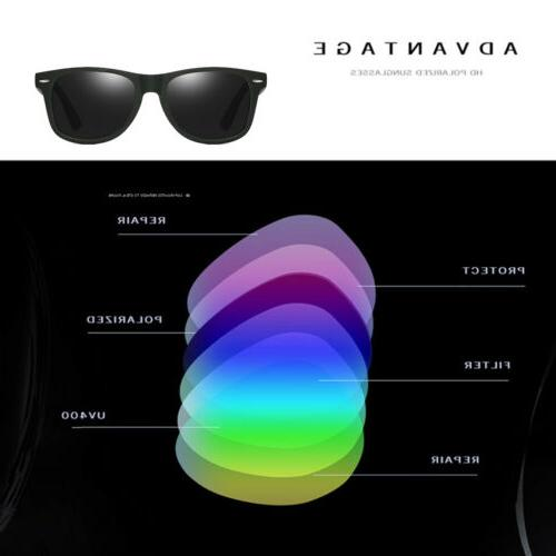 Polarized Sunglasses Men & Women Retro Classic Running Driving Glasses
