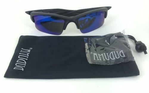 Duduma Sunglasses, Sports Fishing W/ Blue