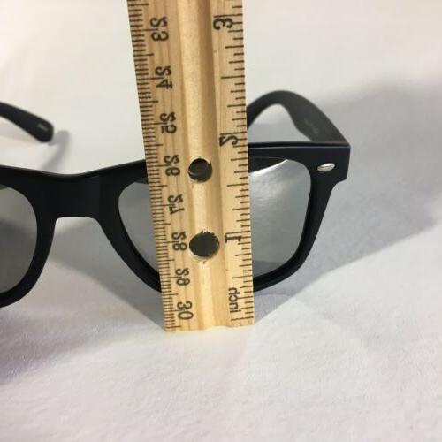 Polarspex Polarized Sunglasses Retro Squared Black