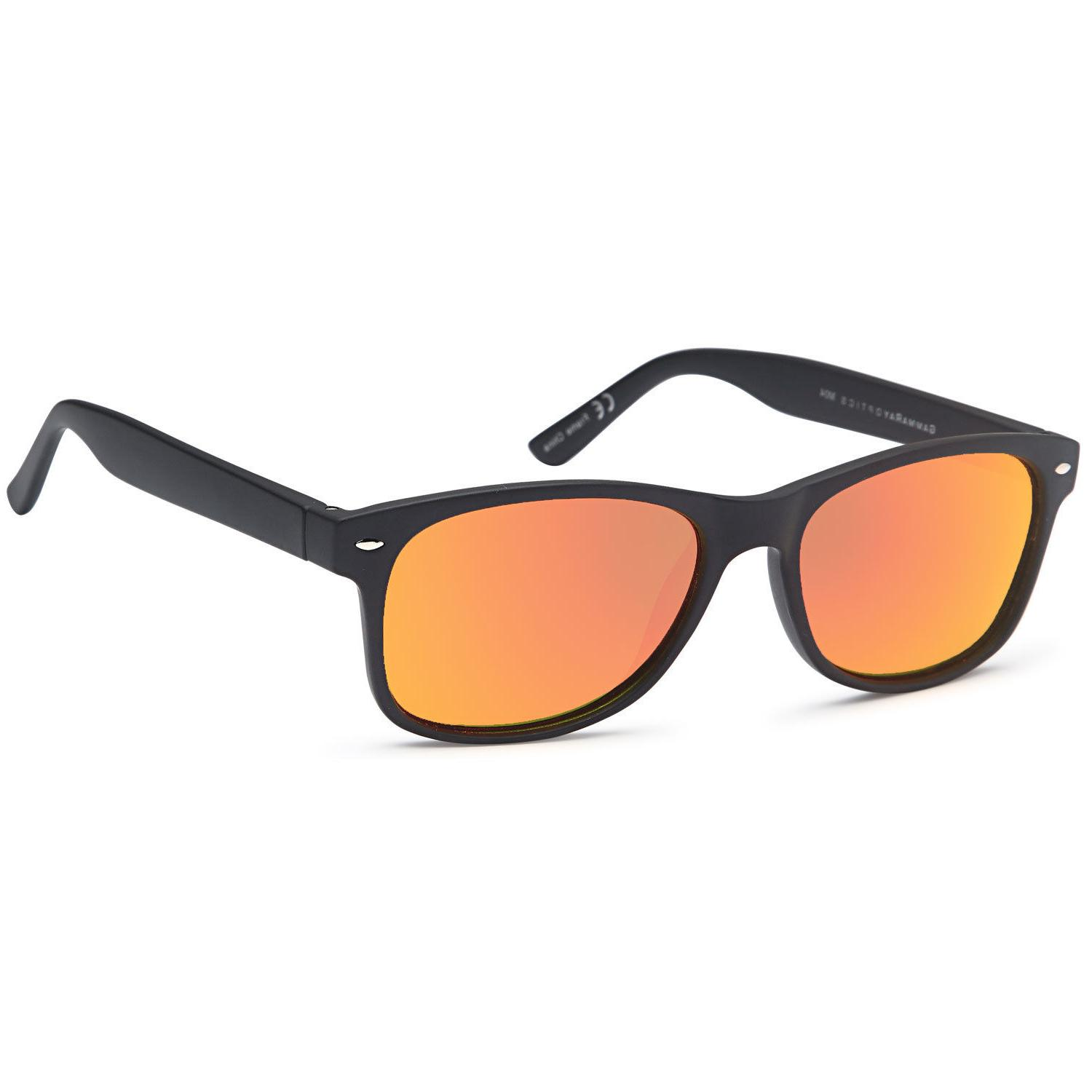 Gamma Ray Classic Style Sunglasses with Mirror