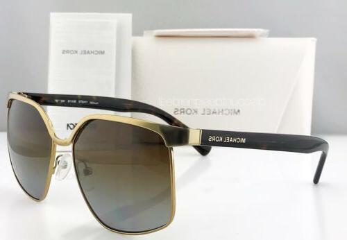 Michael Sunglasses MK1018 1145T5 AUGUST Brown Gradient