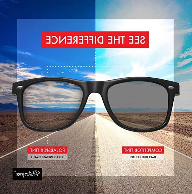 Polarspex Classic Trendy Sunglasses for Men Women