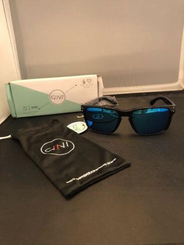WearMe Pro - Premium Polarized Mirror Lens Classic Style Sun