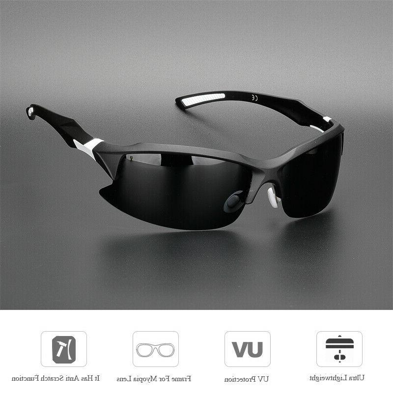 Professional Polarized Cycling Casual Outdoor Sunglasses 4 Color