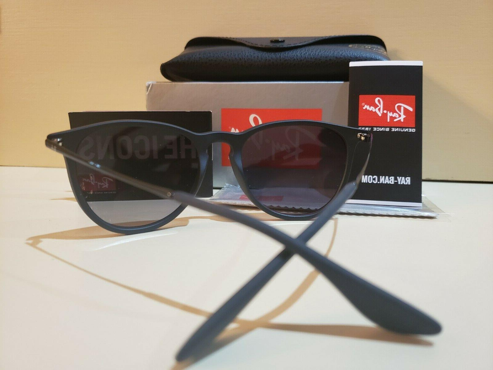 Ray-Ban Erika Classic Polarized Matte Black Sunglasses RB4171