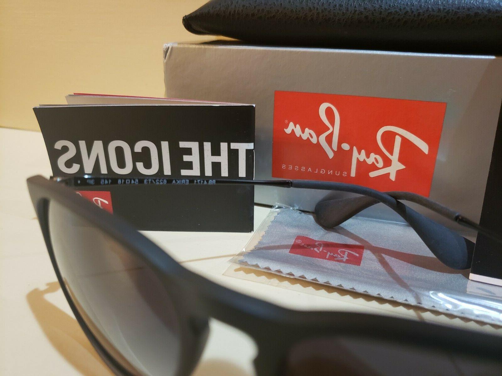Ray-Ban Erika Polarized Matte Sunglasses RB4171