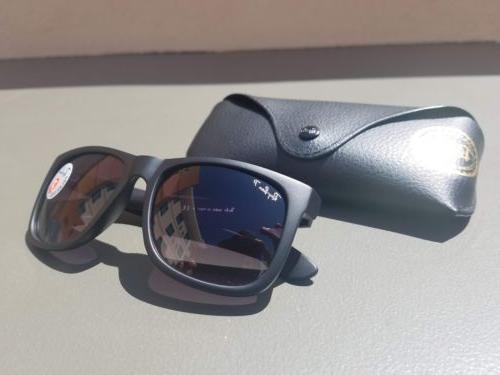 Ray-Ban JUSTIN Polarized Sunglasses RB4165