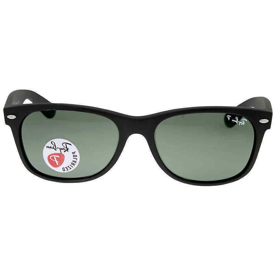ray ban new green polarized matte black