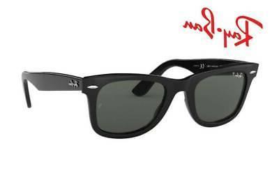 ray ban polarized wayfarer sunglasses black frame