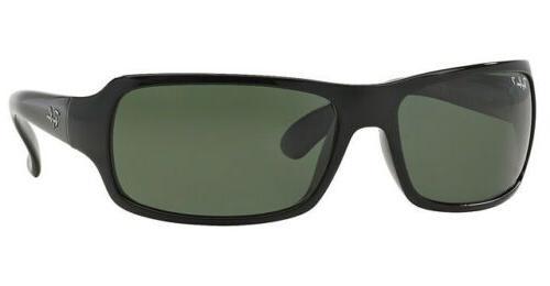 Ray-Ban RB4075 Gloss Black Polarized Sunglasses
