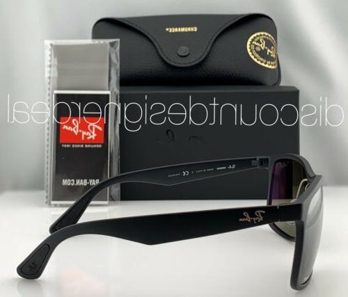 Ray-Ban Sunglasses 601S5J Matte Silver POLARIZED 58