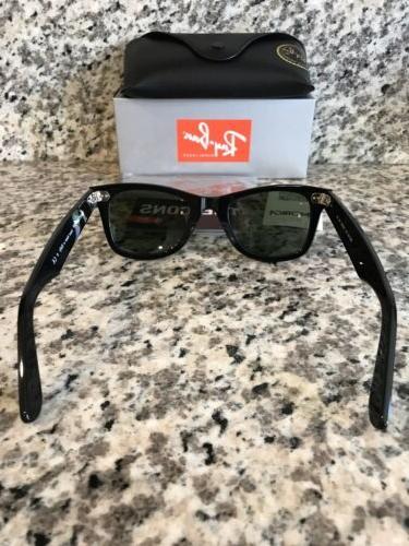 Ray-Ban Sunglasses 901 Black 50mm/G-15 Green Lens