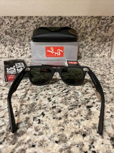 Ray-Ban Wayfarer Sunglasses 901S Matte Black Green