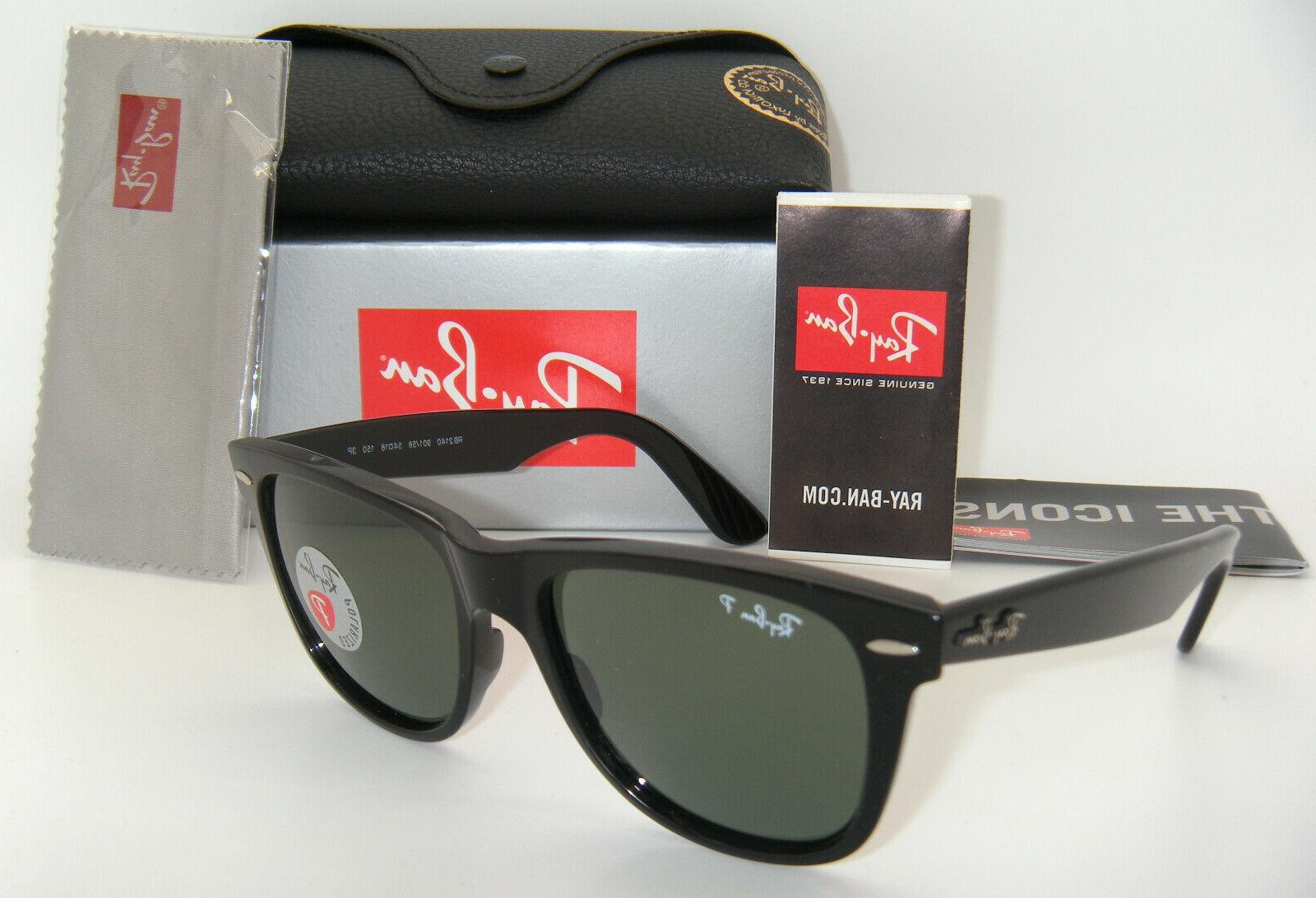 rb2140 wayfarer polarized sunglasses 901