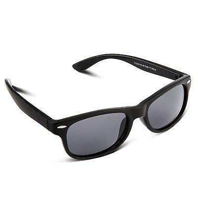RIVBOS RBK004 Rubber Flexible Kids Polarized Sunglasses for