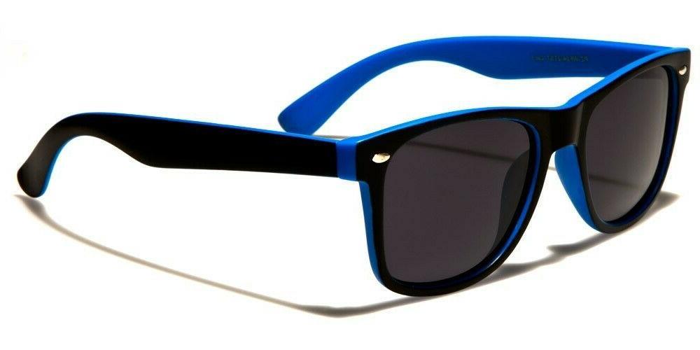 Retro Polarized Sunglasses Mens Womens Bold Colors Classic B