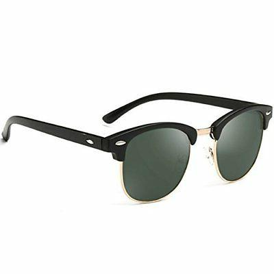 Joopin Semi Rimless Polarized Sunglasses Women Men Brand Vin