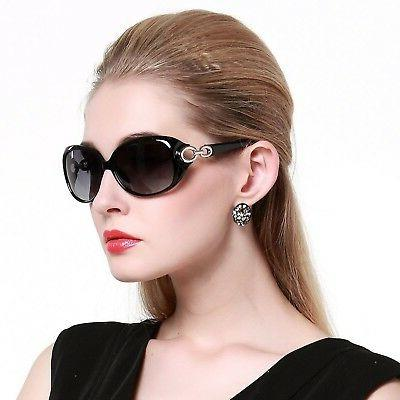 DUCO Shades Classic Oversized Polarized Sunglasses for Women