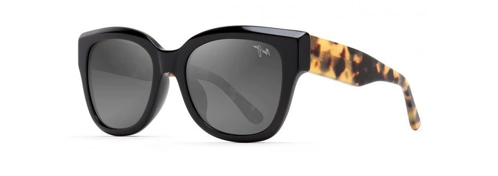 Maui MJ 801-02B Tortoise Black Gloss Polarized