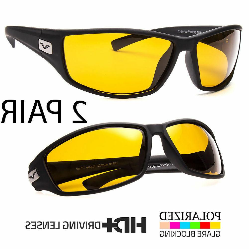 Sport Wrap Driving Polarized High Definition
