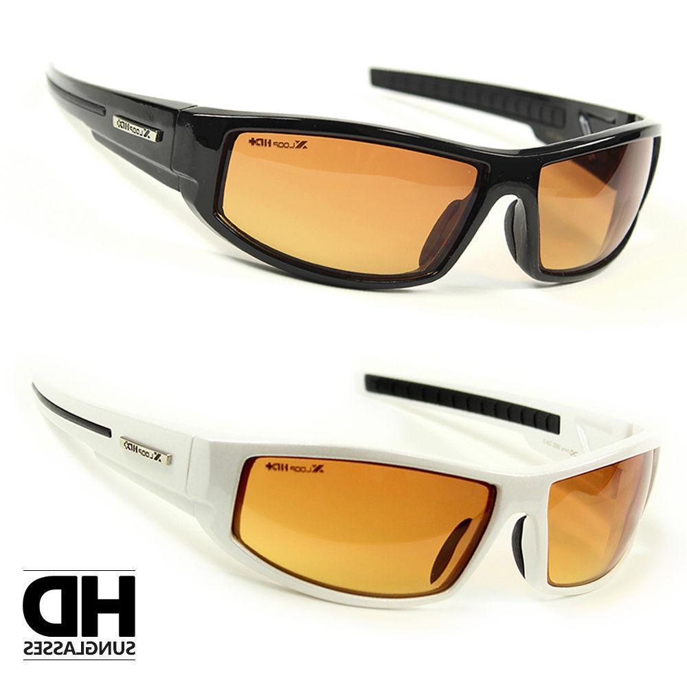 sport wrap hd night driving vision sunglasses
