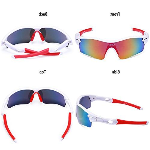 Sport Carfia Polarized and with Interchangeable Unbreakable UV400