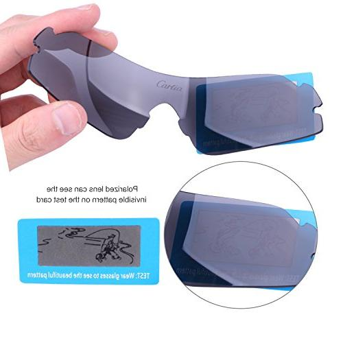 Sport Sunglasses Polarized Sunglasses for and Women Interchangeable Fishing Golf, Unbreakable Frame Protection