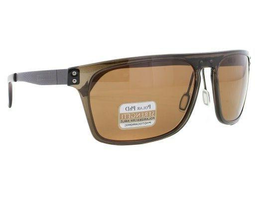 Serengeti Ferrara Sunglasses Frame 7898 Crystal Photochromic Brown New