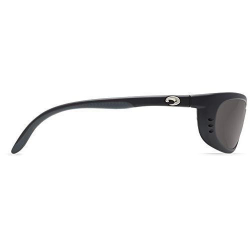 Costa Mar - Fathom- Frame: Matte Black Lens: Polarized Gray