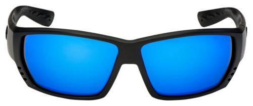 Costa Alley Sunglasses Blk  Blue Mirror Polarized 580G