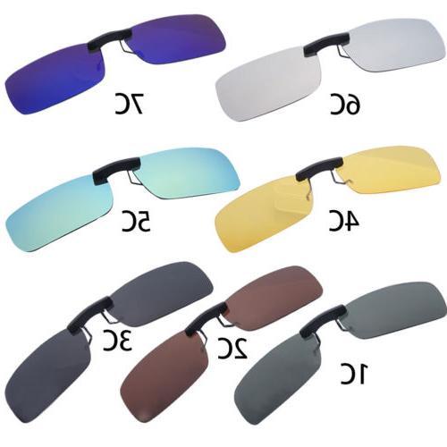 2Pcs Stylish Unisex Sunglasses Polarized On Driving Glasses