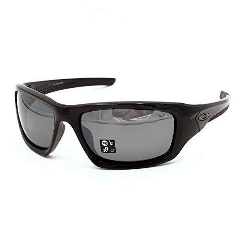Oakley Valve Sunglasses Black/Polarized Black Iridium OA-12-