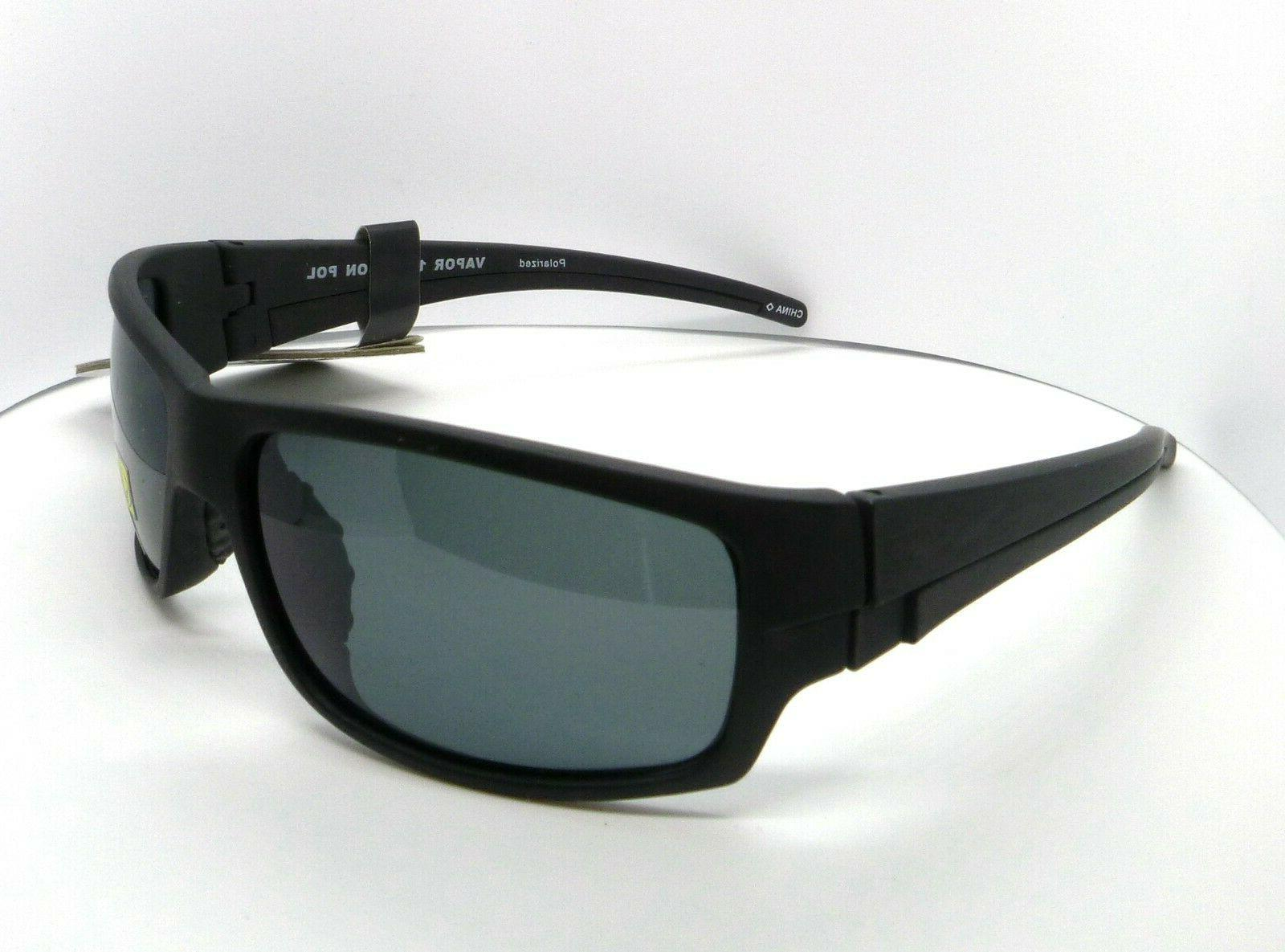 vapor 1 polarized sunglasses black carbon wrap