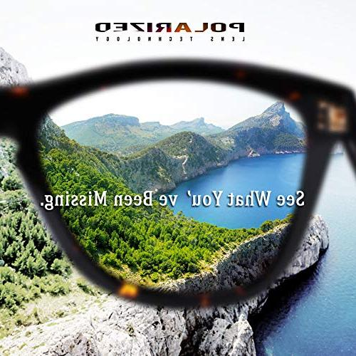 Carfia Polarized Sunglasses 丨Designer Sunglasses Case丨100% UV400