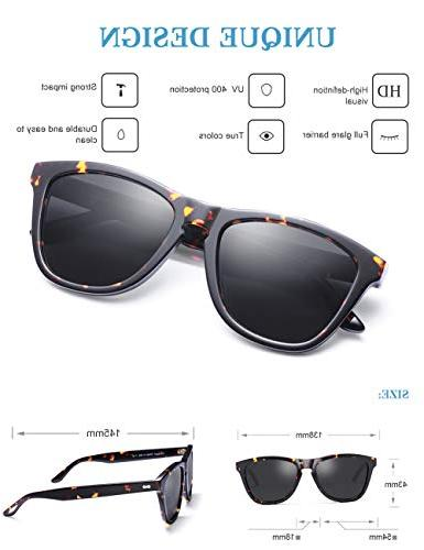 Carfia Sunglasses 丨Designer Case丨100% UV400 Protection