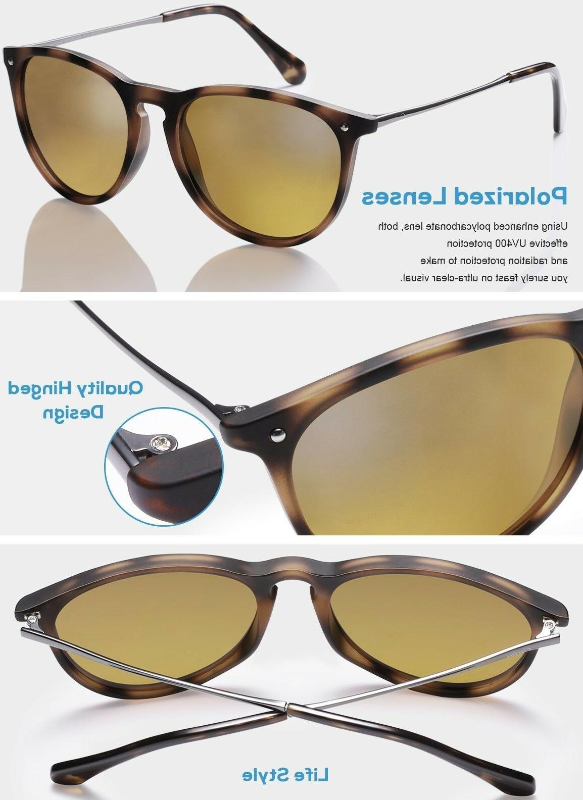 Carfia Vintage for Women UV400 Protection