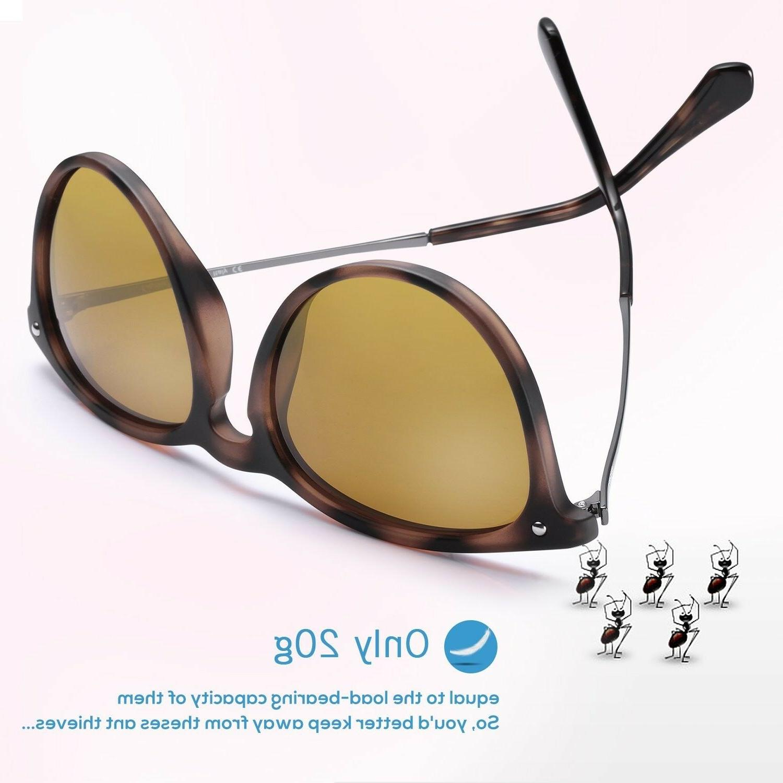 Carfia for Women Men, UV400 Protection