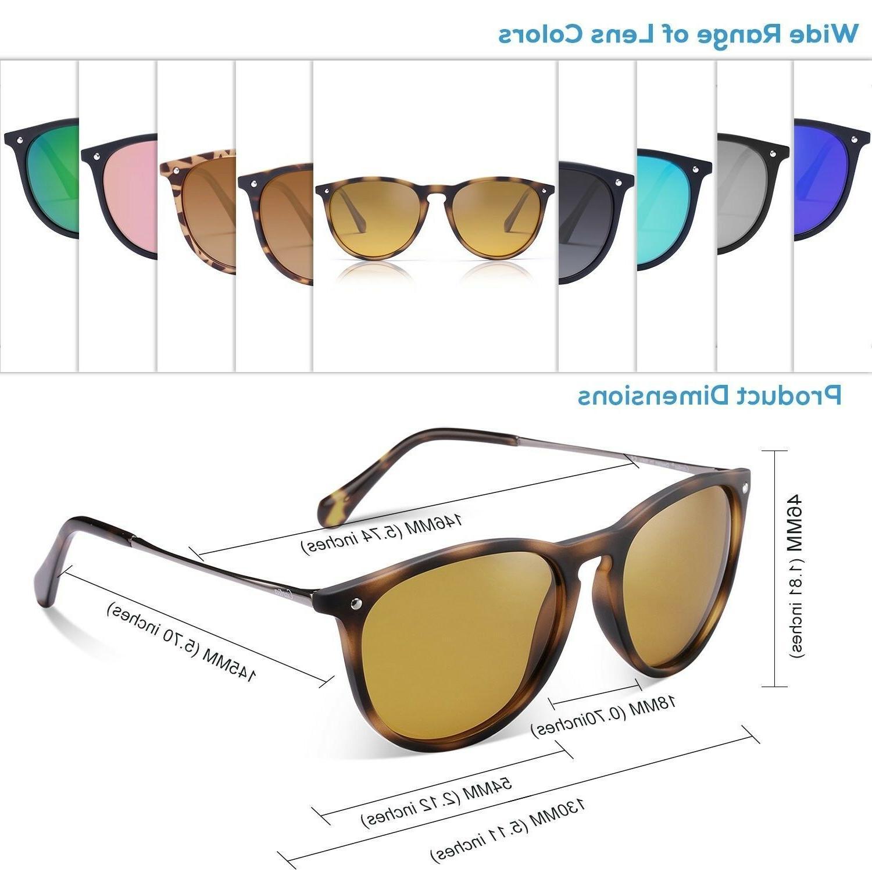 Carfia Sunglasses for Men, UV400 (Tortoi