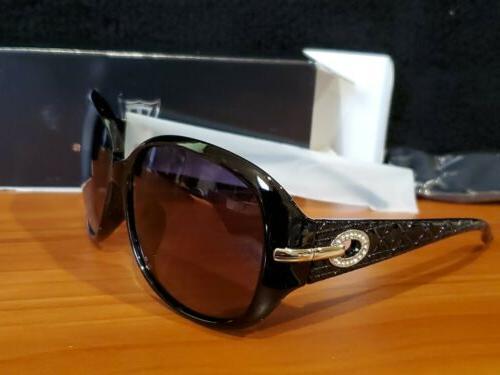ATTCL Women Polarized UV400 Sunglasses Fashion Plaid Oversiz