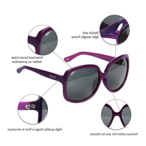 LianSan Oversized Polarized uv LSP301