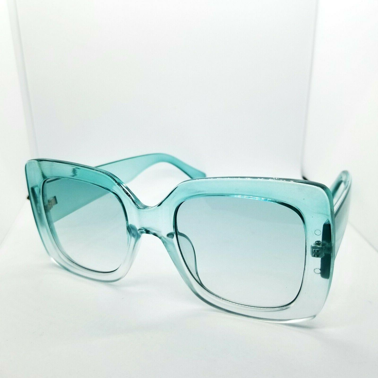 Women's Sunglasses Clear Green Acrylic Plastic Retro Fashion