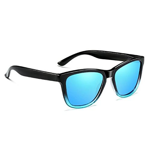 ELITERA Sunglasses Famous Lady Designer Gradient Polarized Glasses UV400