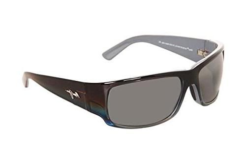 Maui Jim World Cup 266-03F | Polarized Marlin Wrap Frame Sun