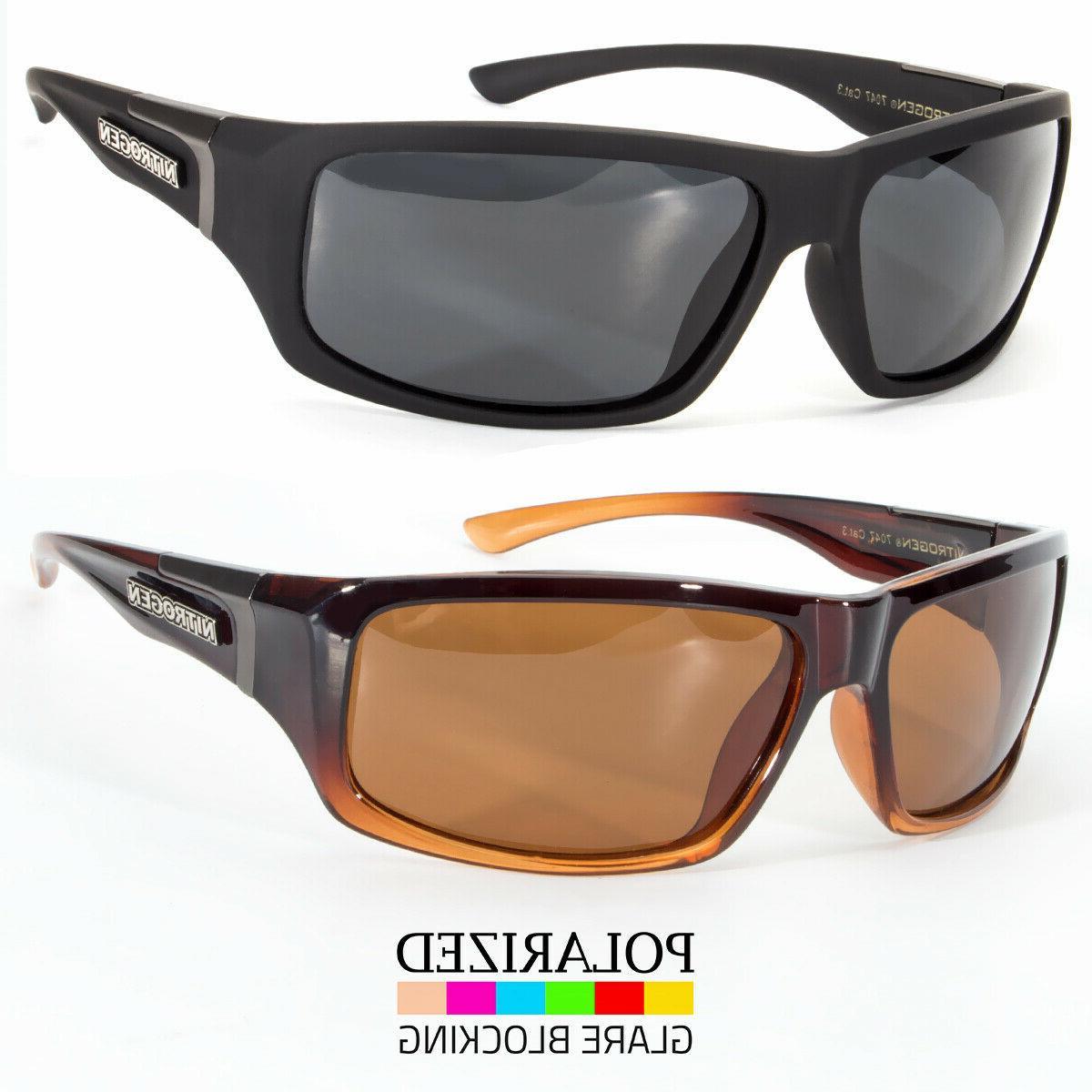 wrap around polarized sunglasses mens sport running