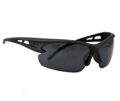wrap around uv400 polarized sport sun glasses